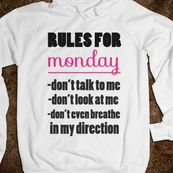 Rules For Monday