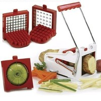 Norpro French Fry Cutter-Fruit Wedger:Amazon:Kitchen & Dining