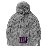 '47 Brand New York Giants Ladies Kiowa Knit Hat – Gray
