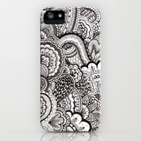 her hair iPhone & iPod Case by Bianca Green