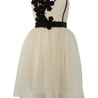 Lipsy Flower Corsage Bodice Dress - Lipsy
