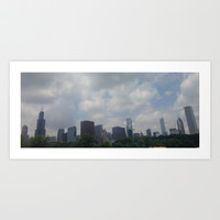 Chicago Skyscrapers Art Print by Kelli Schneider