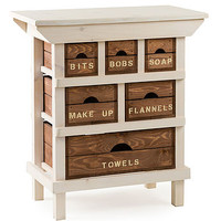 Personalised Six Crate Drawer Island