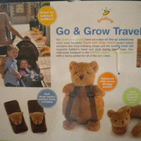 GO & GROW TRAVEL SET---STRAP COVERS, NECK ROLL & BACKPACK--NEW!! for Baby Shower | eBay