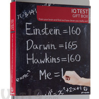 IQ Test Gift Box: Find out how clever you really are!