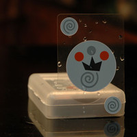 Invisible Playing Cards are waterproof, clear, plastic and cool!