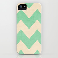 Malibu - Chevron iPhone & iPod Case by CMcDonald