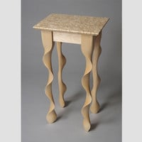 Sugar Maple Taffy Table - custom end table