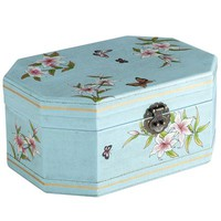 Turquoise Hexagon Jewelry Box