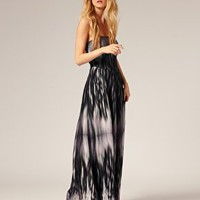 Ted Baker | Ted Baker Tessalate Print Strapless Maxi Dress at ASOS