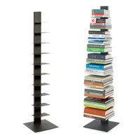 Dark Grey Sapien Bookcase