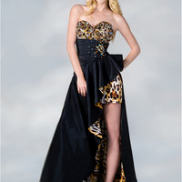 Prom Dresses, Leopard Print, High Low Dress, Unique from Sung Boutique Los Angeles, Category Winter Formal