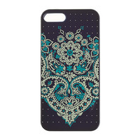 Shiny paisley case for iPhone 5 - accessories - Women's new arrivals - J.Crew
