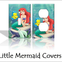 Little Mermaid Disney Ariel Light Switch by KeepCalmandTurnItOn