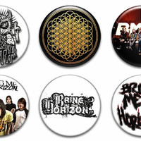 Bring Me The Horizon Pinback Buttons Badges Pins