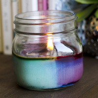 Tie DIY Candles