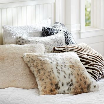 Fur Pillow Cover