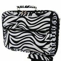 Zebra Laptop Bag Case 17""