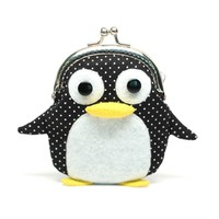 Supermarket: Cute little penguin clutch purse from Misala Handmade Bags & Purses