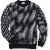 Heritage Sweater, Norwegian Crewneck: Crewnecks | Free Shipping at L.L.Bean
