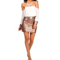 Mimi-Ivory Homecoming Dress