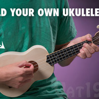 My Ukulele Kit: Build your own DIY ukulele in a matter of hours.