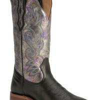 Boulet Metallic Shine Cowgirl Boots - Square Toe - Sheplers