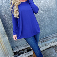 Periwinkle Blue Piko | The Rage