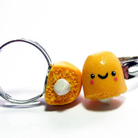 Best Friends Rings Twinkie Halves  Miniature Food by TheHappyAcorn