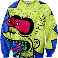 ☮♡ Lisa Simpson Grunge Sweater ✞☆