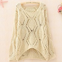 Hollow Sweater A 083001 a