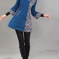 Charming long cotton coat by xiaolizi on Etsy