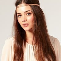 ASOS | ASOS Rose Gold Colored Headband at ASOS