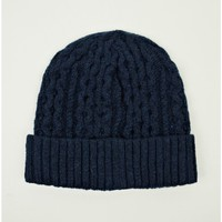 Norse Projects Men's Cable Wool Beanie