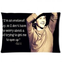 "Customized Niall Horan Pillowcase Covers Standard Size 20""x30"" PWC0074:Amazon:Home & Kitchen"