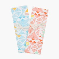 Poketo Pyramids Tea Towel