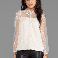 Alice by Temperley Celia Top in Ivory from REVOLVEclothing.com