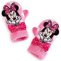Minnie Mouse Mittens for Girls | Disney Store