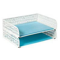 The Container Store  Brocade Letter Tray