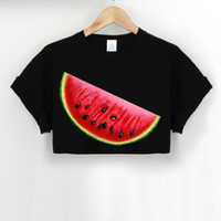 ANDCLOTHING — WatermelAND Crop Top
