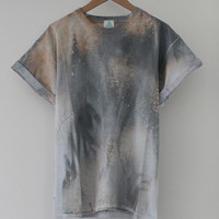 ANDCLOTHING — Winter Galaxy Tie Dye Tee