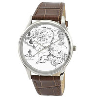 Vintage Map Watch (Middle Earth) in B/W