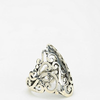 Urban Outfitters - Embossed Script Ring