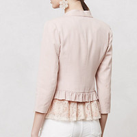 Ruffled Calin Blazer
