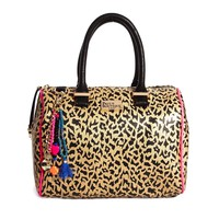 Paul's Boutique Molly Leopard Bowling Bag at asos.com