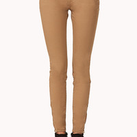 Desert Cool Zippered Skinny Jeans | FOREVER 21 - 2000050423