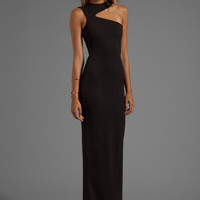 AQ/AQ Gosling Maxi Dress in Black