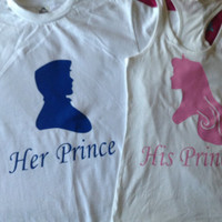 Sleeping Beauty & Prince Phillip Couples Shirts