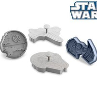 Star Wars Cookie Cutter Set: Death Star, Millennium Falcon,  Fighters