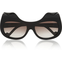 Anna-Karin Karlsson | When Trouble Came To Town square-frame acetate sunglasses | NET-A-PORTER.COM